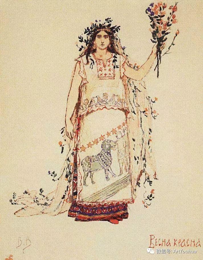 历史和神话题材油画 俄罗斯Viktor Mikhailovich Vasnetsov插图37