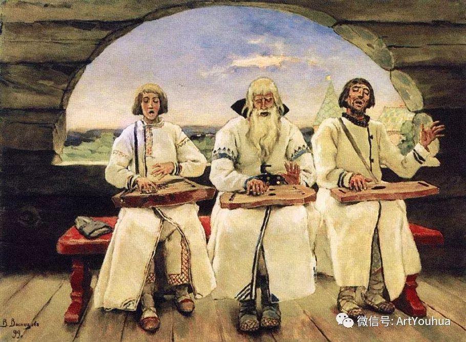 历史和神话题材油画 俄罗斯Viktor Mikhailovich Vasnetsov插图39