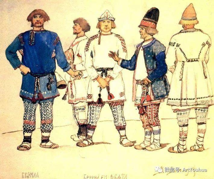 历史和神话题材油画 俄罗斯Viktor Mikhailovich Vasnetsov插图43