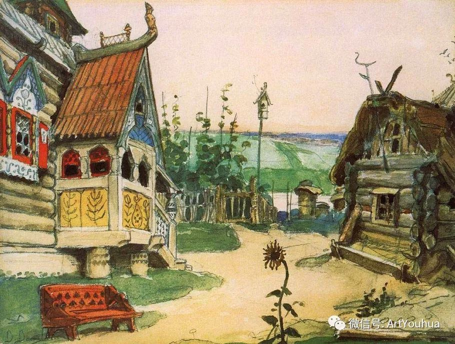 历史和神话题材油画 俄罗斯Viktor Mikhailovich Vasnetsov插图53