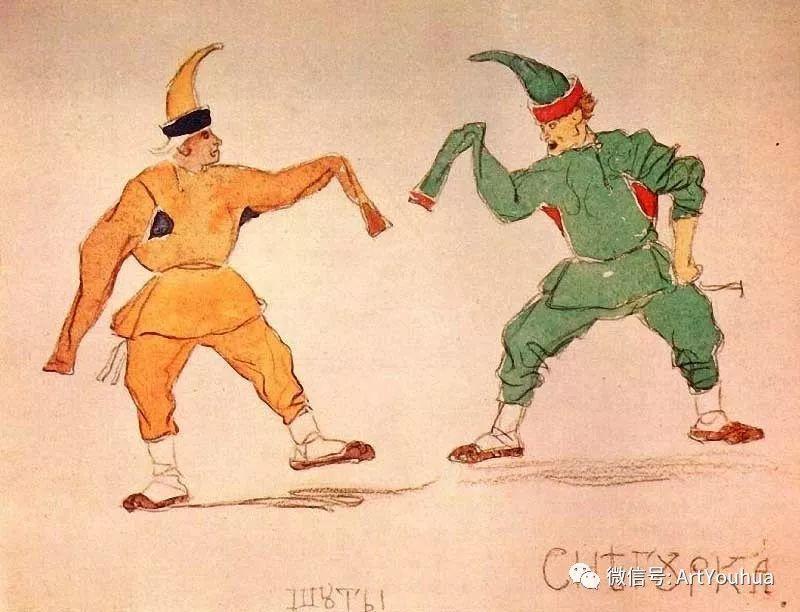 历史和神话题材油画 俄罗斯Viktor Mikhailovich Vasnetsov插图69