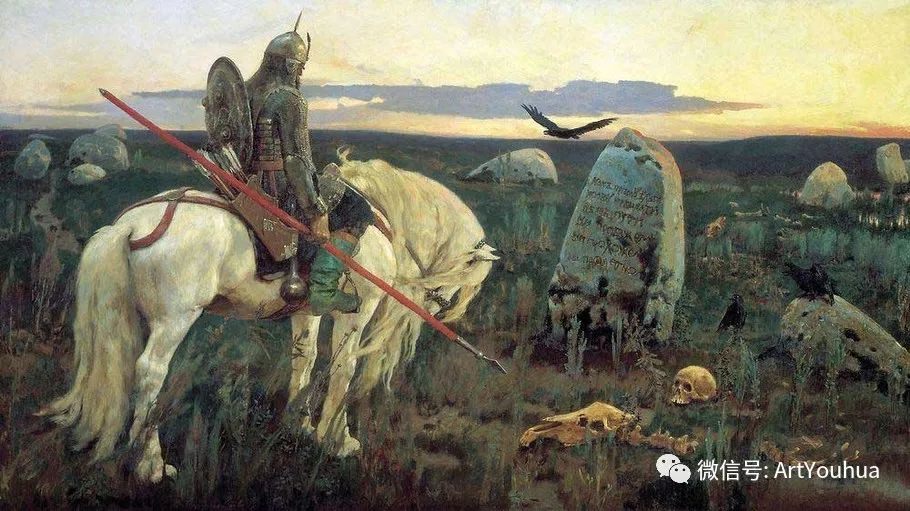 历史和神话题材油画 俄罗斯Viktor Mikhailovich Vasnetsov插图83