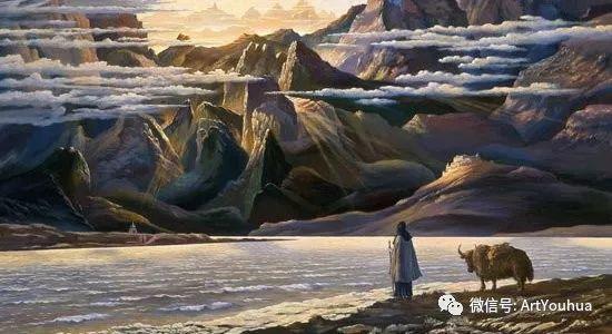 民俗场景和神话绘画 俄罗斯Vsevolod Ivanov作品插图1