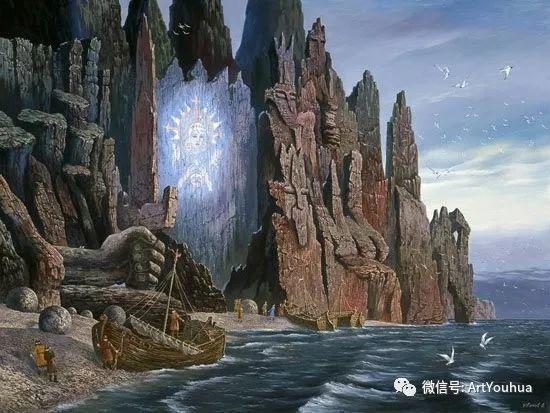 民俗场景和神话绘画 俄罗斯Vsevolod Ivanov作品插图3