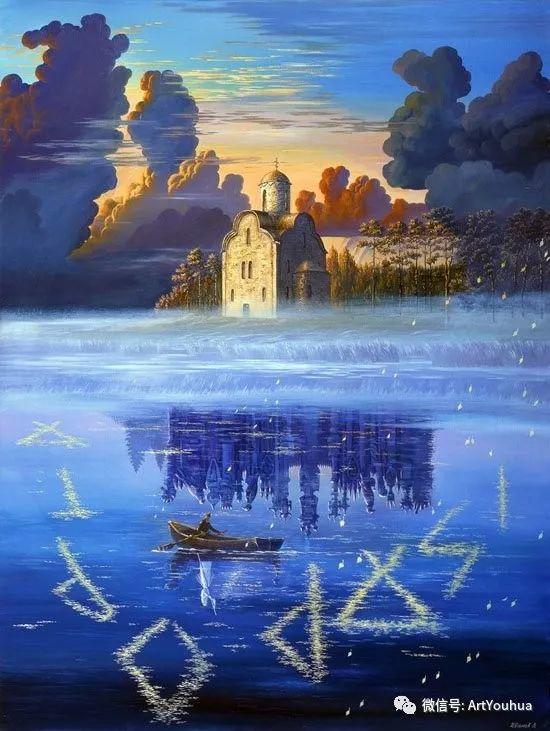 民俗场景和神话绘画 俄罗斯Vsevolod Ivanov作品插图9