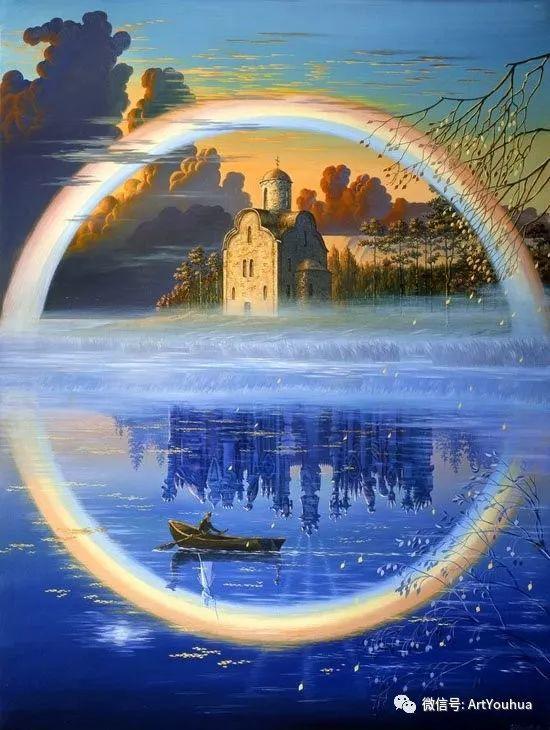 民俗场景和神话绘画 俄罗斯Vsevolod Ivanov作品插图11