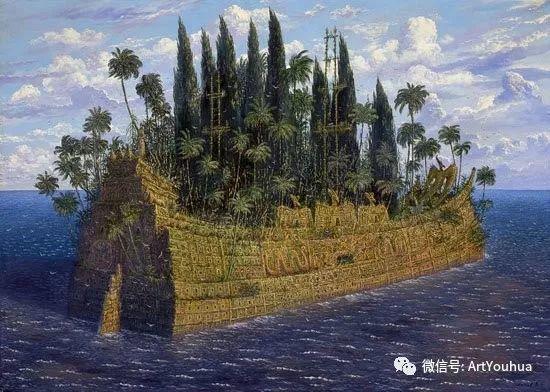 民俗场景和神话绘画 俄罗斯Vsevolod Ivanov作品插图33