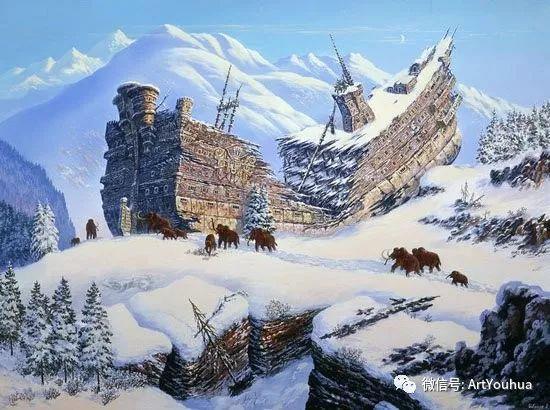 民俗场景和神话绘画 俄罗斯Vsevolod Ivanov作品插图35