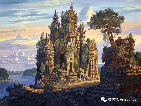 民俗场景和神话绘画 俄罗斯Vsevolod Ivanov作品插图43