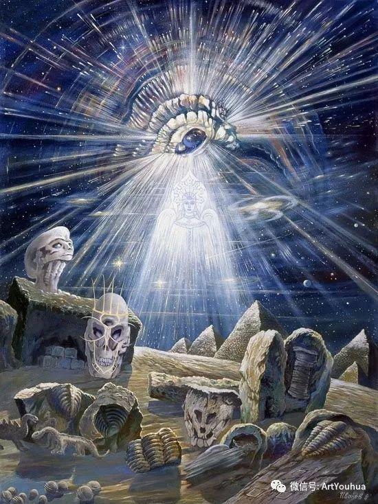 民俗场景和神话绘画 俄罗斯Vsevolod Ivanov作品插图51