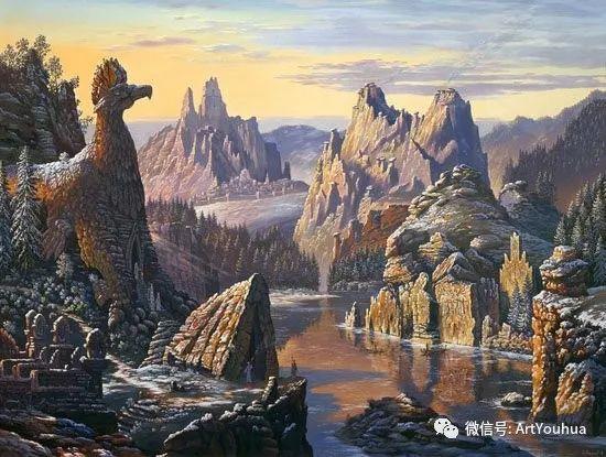 民俗场景和神话绘画 俄罗斯Vsevolod Ivanov作品插图59