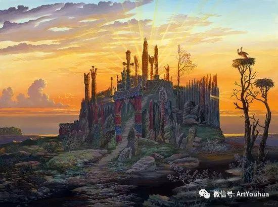 民俗场景和神话绘画 俄罗斯Vsevolod Ivanov作品插图65
