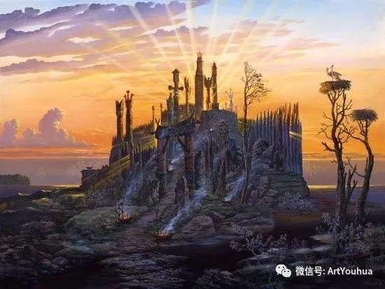 民俗场景和神话绘画 俄罗斯Vsevolod Ivanov作品插图67