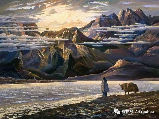民俗场景和神话绘画 俄罗斯Vsevolod Ivanov作品插图73