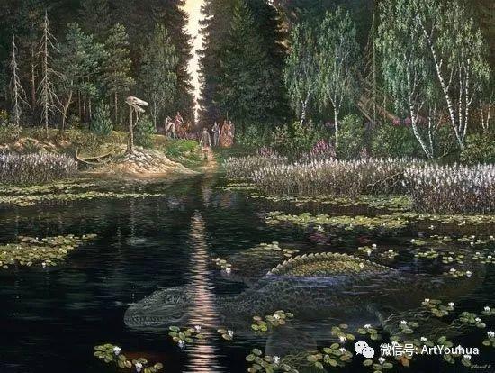 民俗场景和神话绘画 俄罗斯Vsevolod Ivanov作品插图77