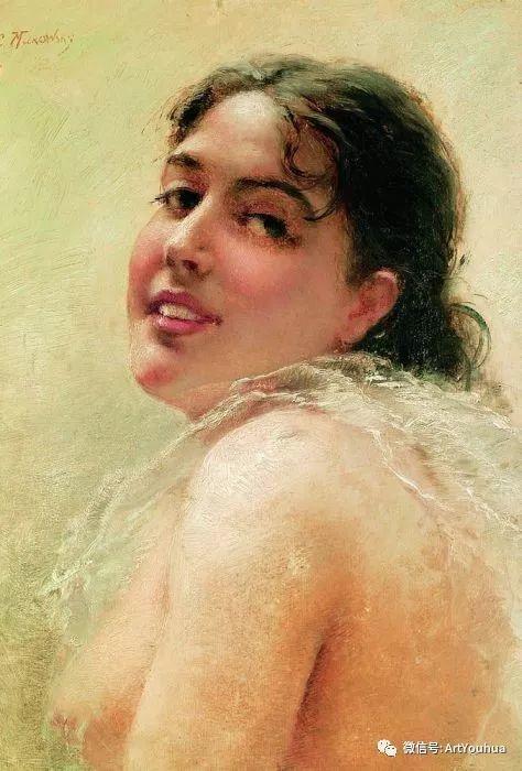 人物油画 俄罗斯Konstantin Makovsky插图1