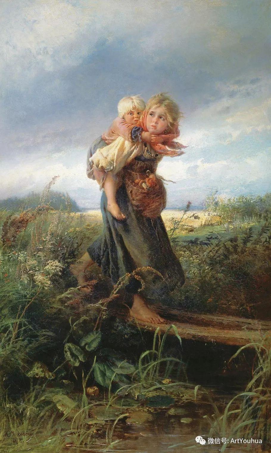 人物油画 俄罗斯Konstantin Makovsky插图41
