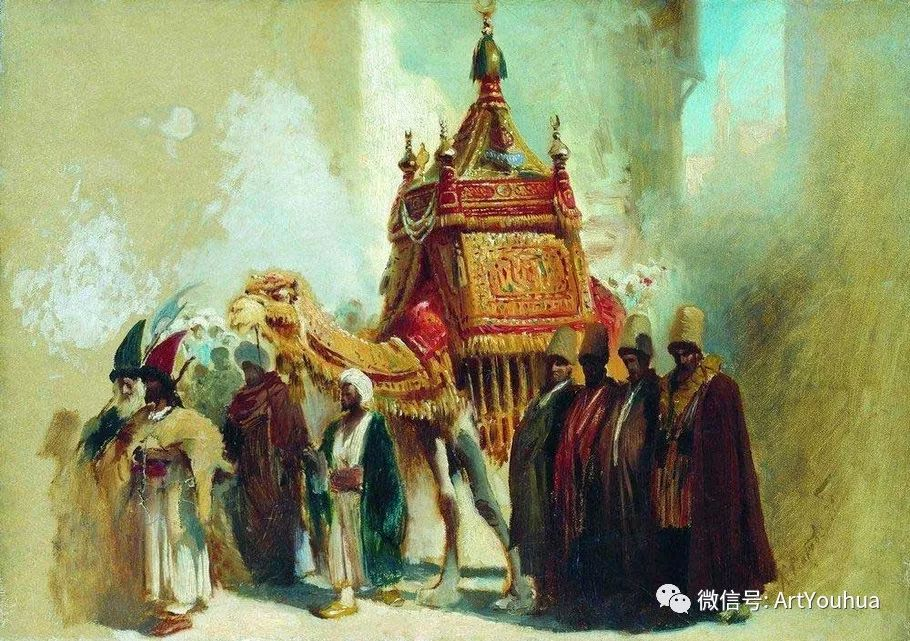 人物油画 俄罗斯Konstantin Makovsky插图69