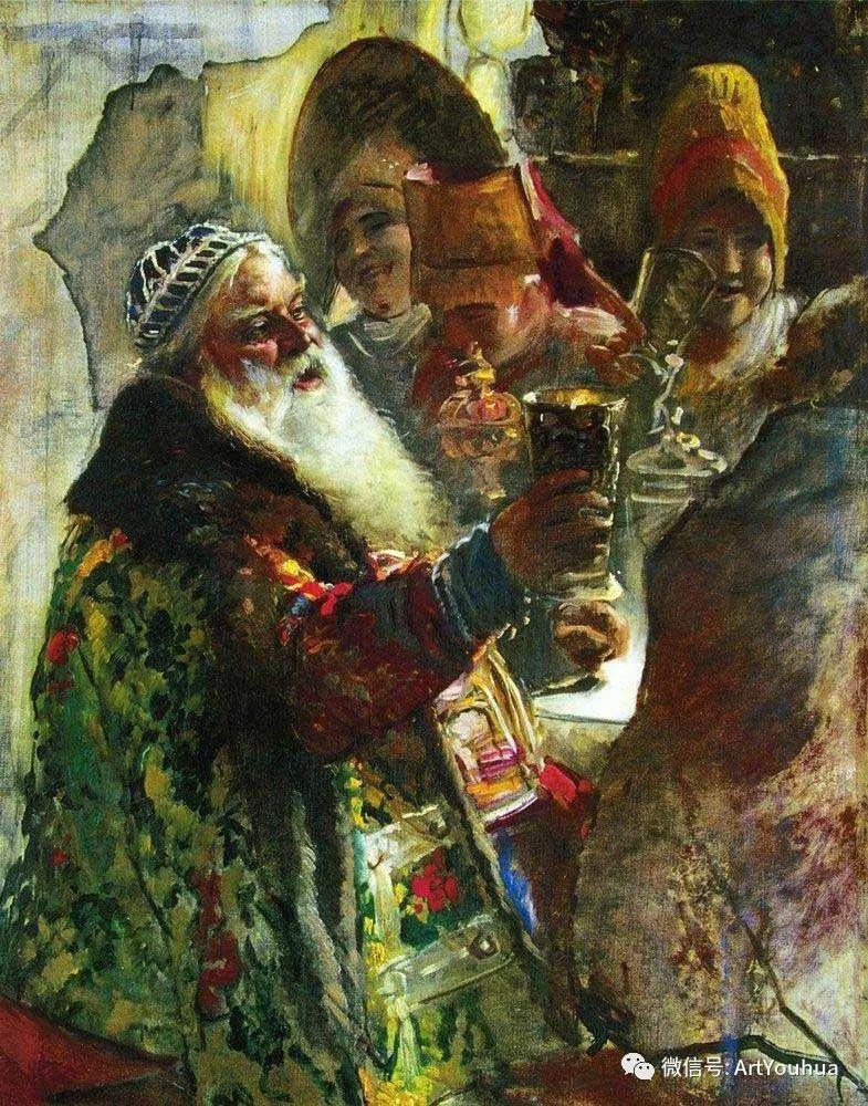 人物油画 俄罗斯Konstantin Makovsky插图81