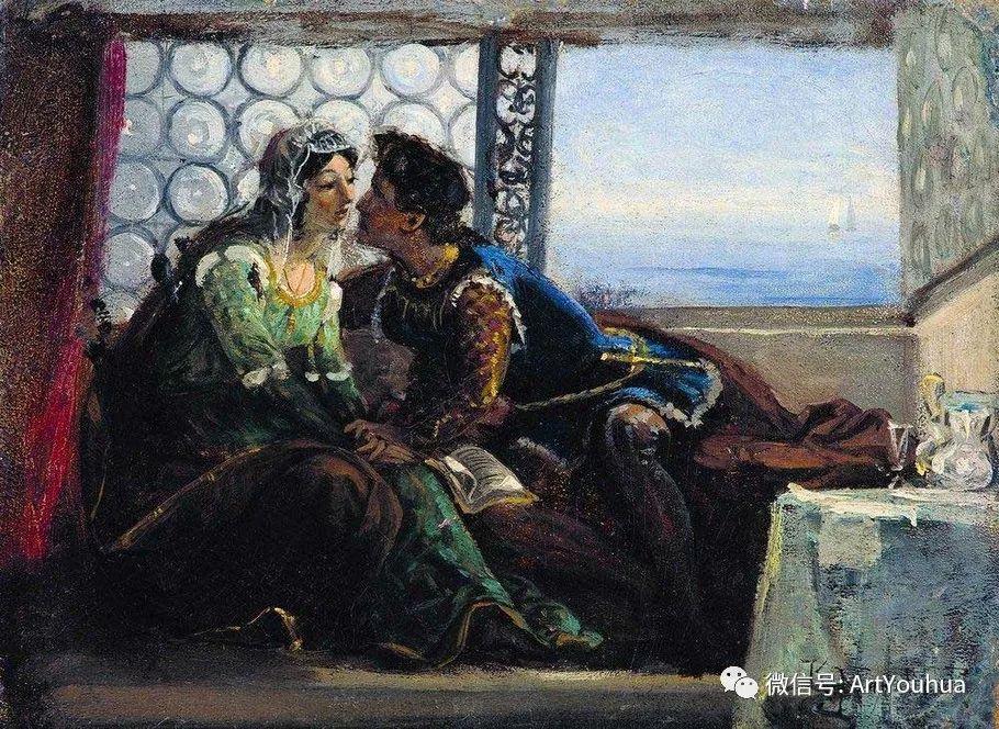 人物油画 俄罗斯Konstantin Makovsky插图87
