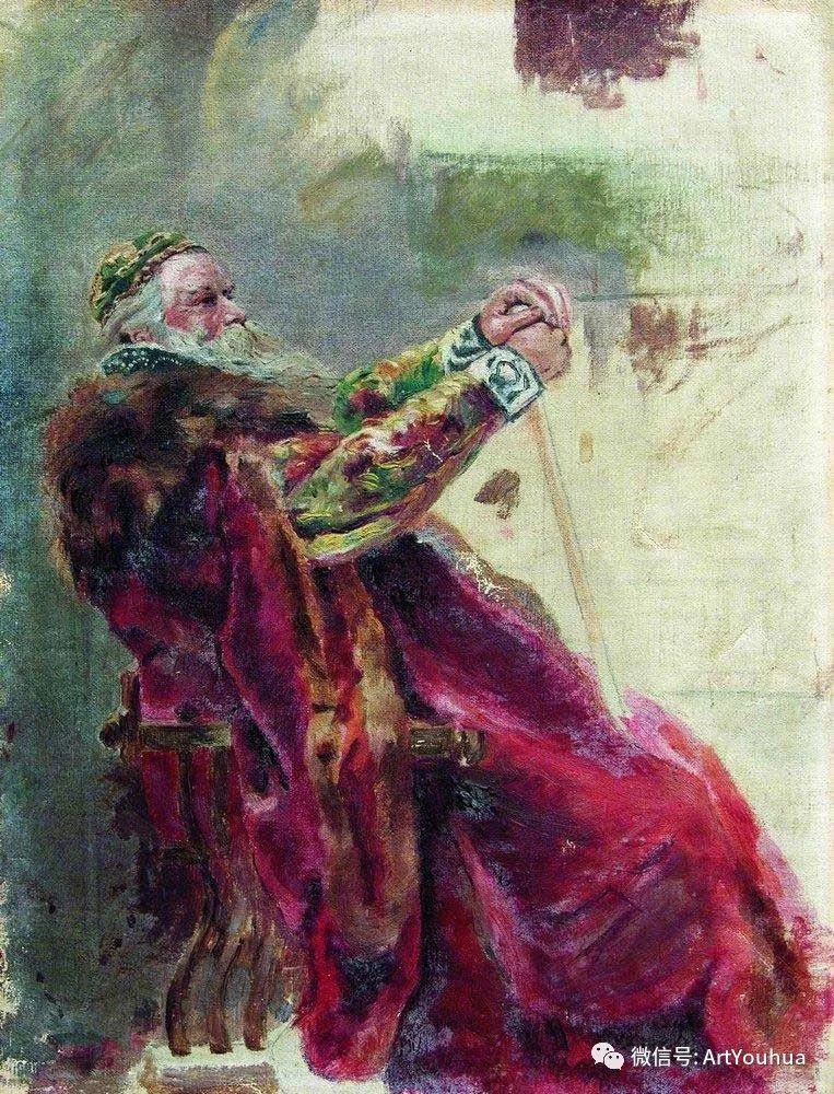 人物油画 俄罗斯Konstantin Makovsky插图95