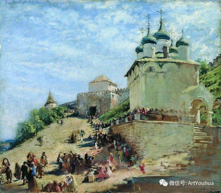 人物油画 俄罗斯Konstantin Makovsky插图103
