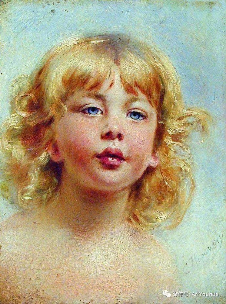 人物油画 俄罗斯Konstantin Makovsky插图113