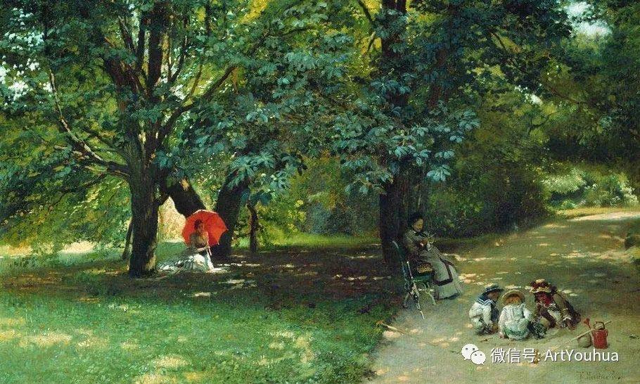 人物油画 俄罗斯Konstantin Makovsky插图121