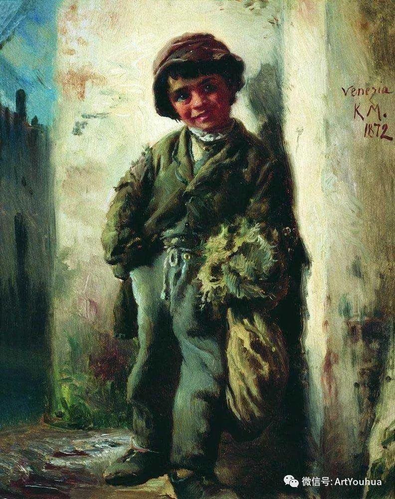 人物油画 俄罗斯Konstantin Makovsky插图123