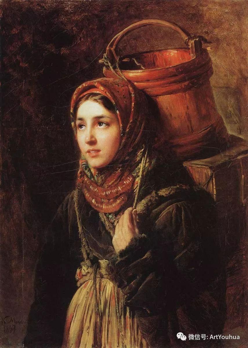 人物油画 俄罗斯Konstantin Makovsky插图127