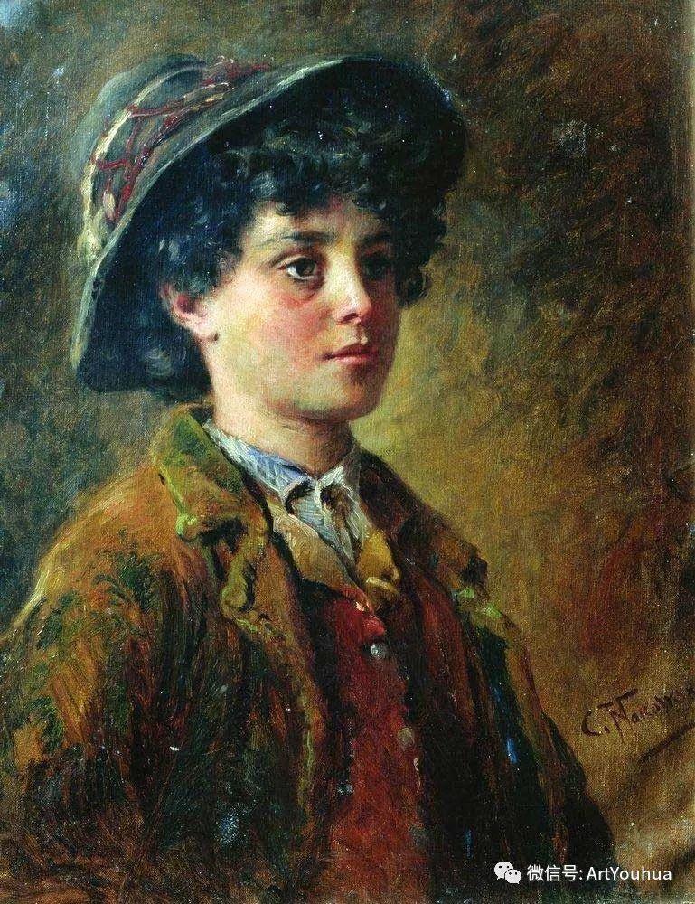 人物油画 俄罗斯Konstantin Makovsky插图153