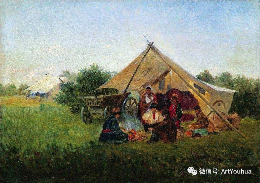 人物油画 俄罗斯Konstantin Makovsky插图155