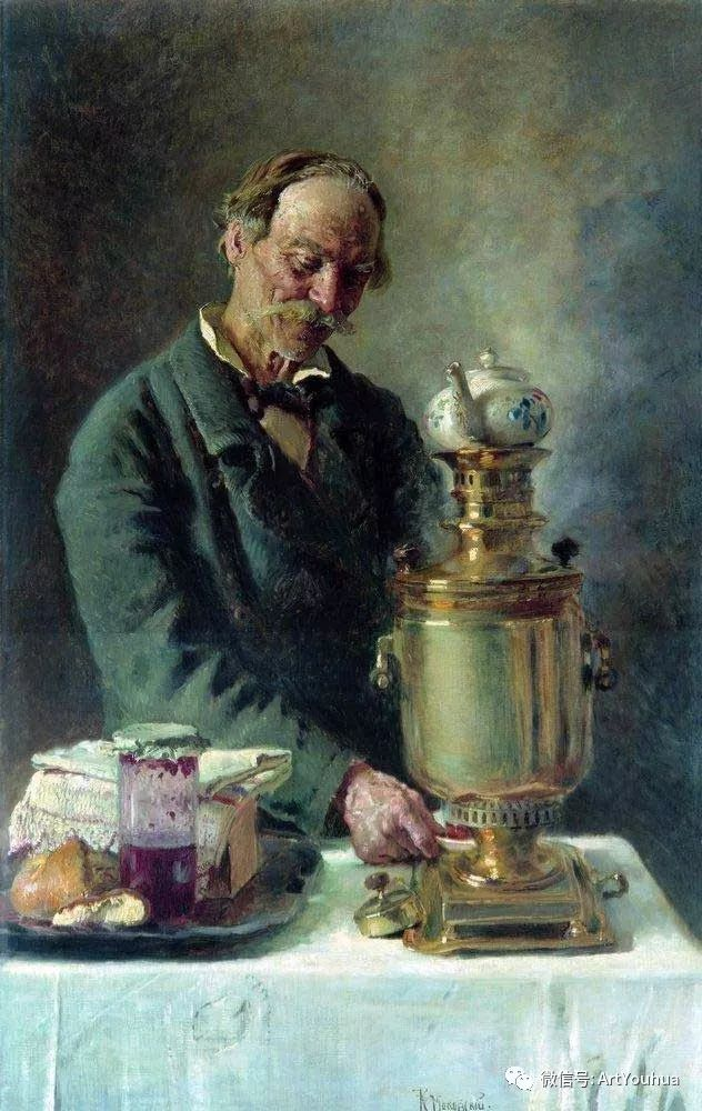 人物油画 俄罗斯Konstantin Makovsky插图167