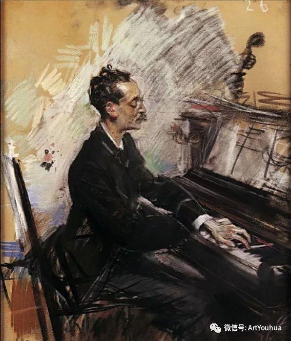 48张人物油画 意大利画家Giovanni Boldini作品一插图5