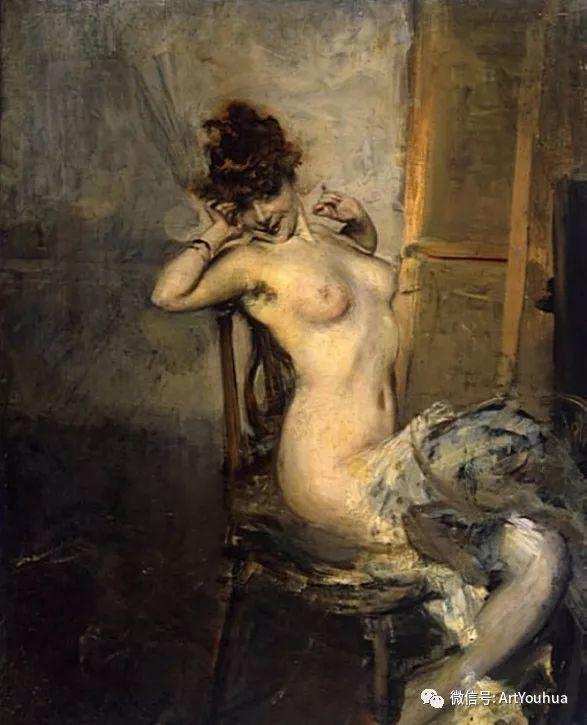 48张人物油画 意大利画家Giovanni Boldini作品一插图7