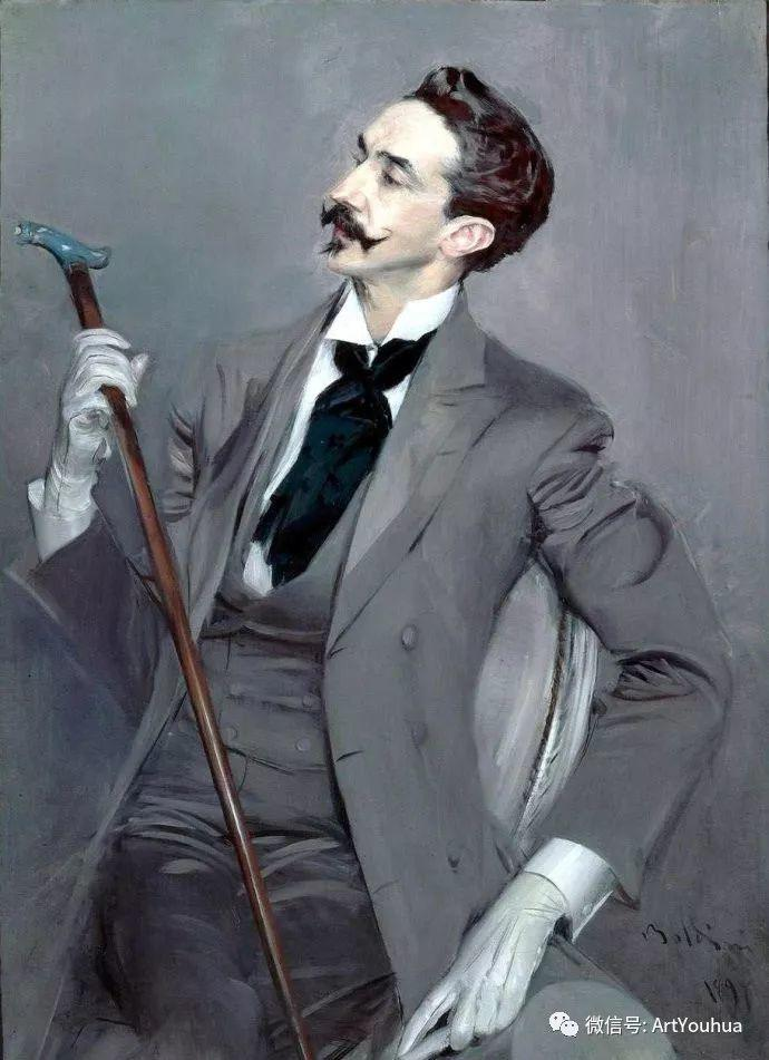 48张人物油画 意大利画家Giovanni Boldini作品一插图9