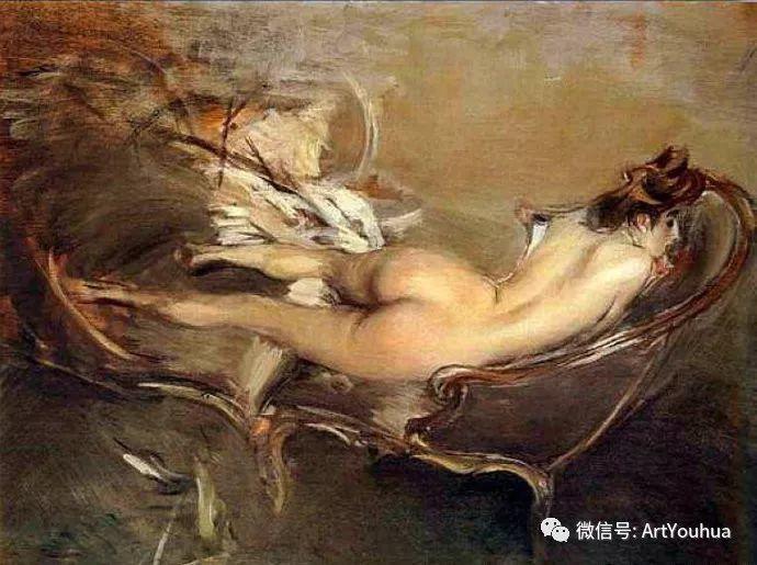 48张人物油画 意大利画家Giovanni Boldini作品一插图13