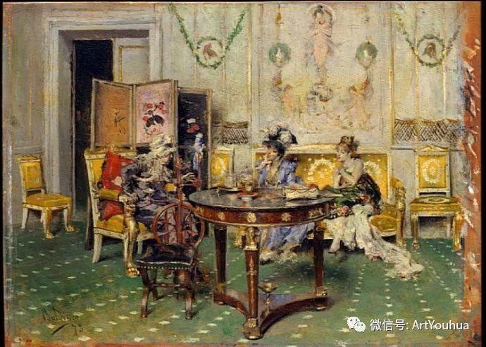 48张人物油画 意大利画家Giovanni Boldini作品一插图15