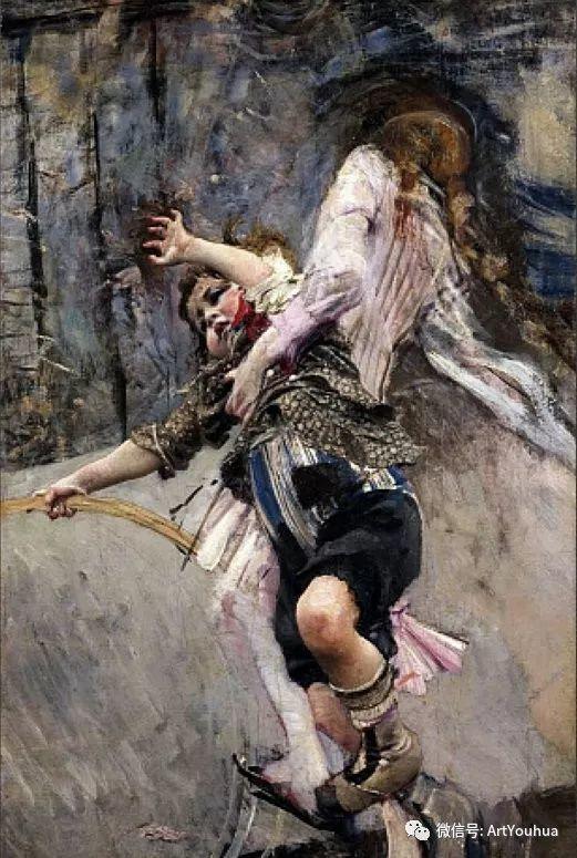 48张人物油画 意大利画家Giovanni Boldini作品一插图21