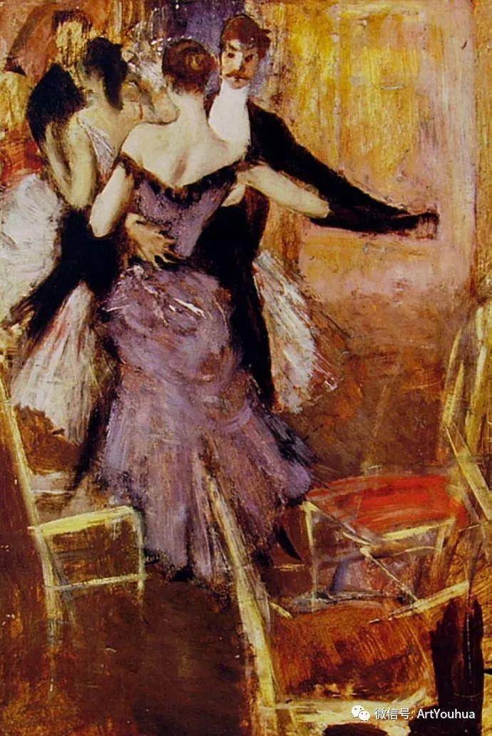 48张人物油画 意大利画家Giovanni Boldini作品一插图27