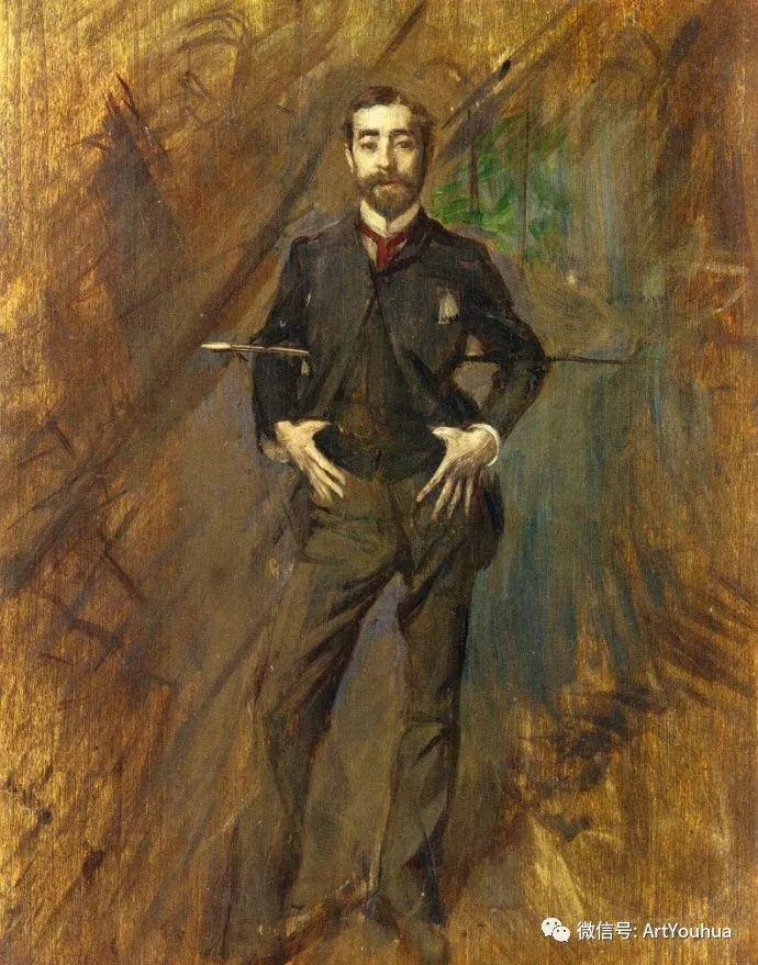 48张人物油画 意大利画家Giovanni Boldini作品一插图35