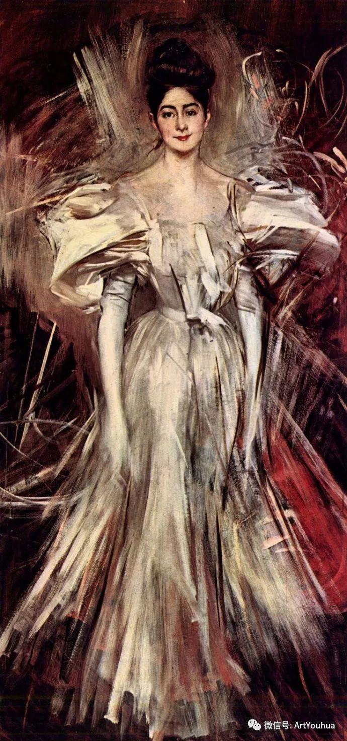 48张人物油画 意大利画家Giovanni Boldini作品一插图47
