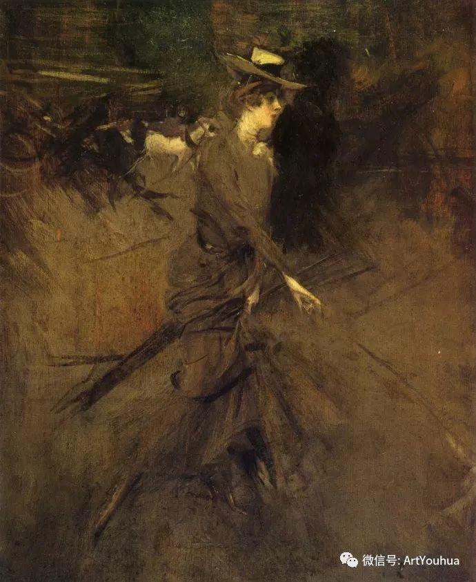 48张人物油画 意大利画家Giovanni Boldini作品一插图63