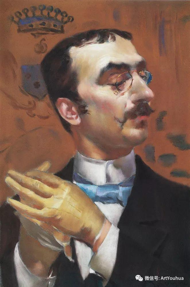 48张人物油画 意大利画家Giovanni Boldini作品一插图81
