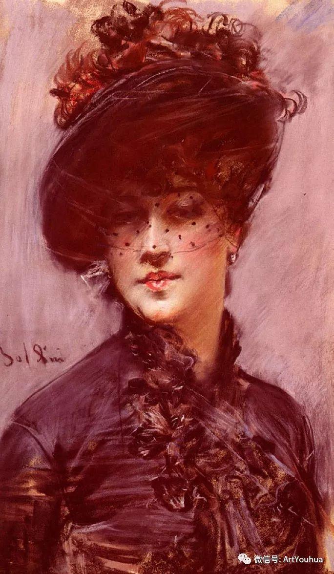 48张人物油画 意大利画家Giovanni Boldini作品一插图83