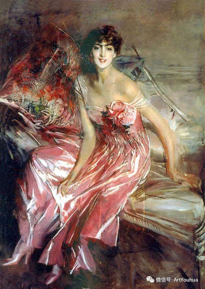 48张人物油画 意大利画家Giovanni Boldini作品一插图87