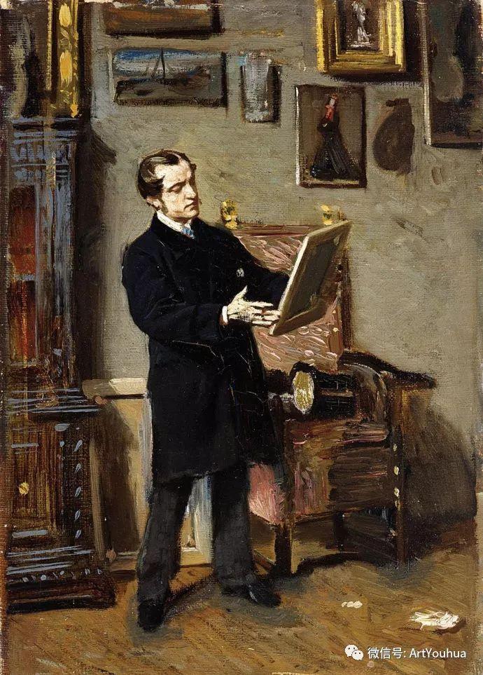 48张人物油画 意大利画家Giovanni Boldini作品一插图93