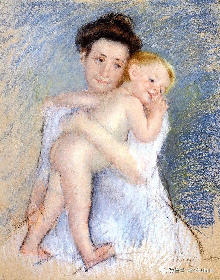50张人物肖像  美国Mary Stevenson Cassatt油画作品一插图23