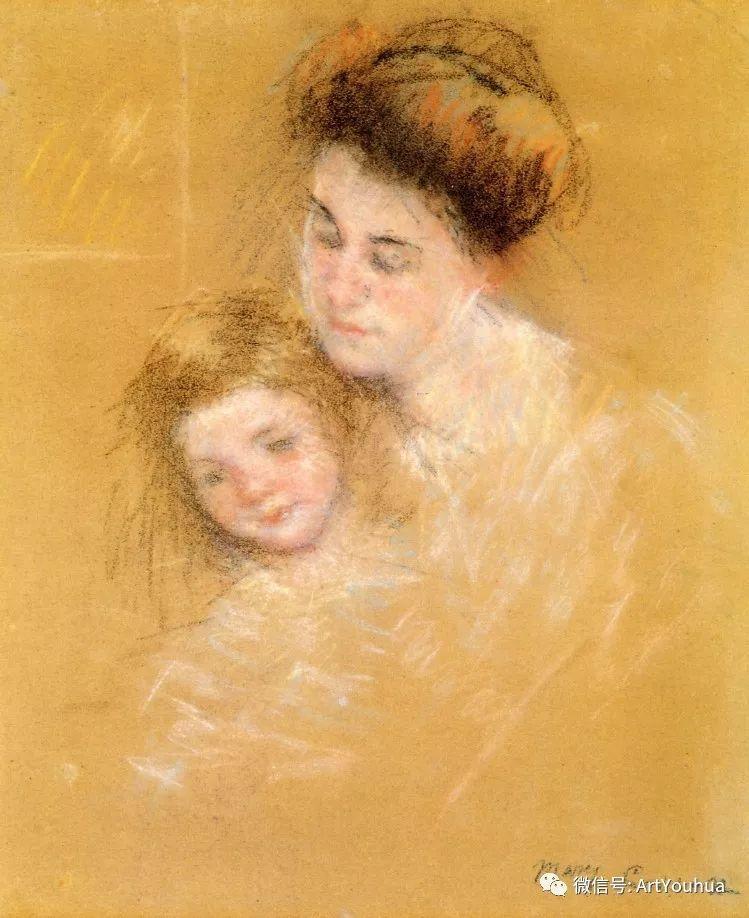 50张人物肖像  美国Mary Stevenson Cassatt油画作品一插图59