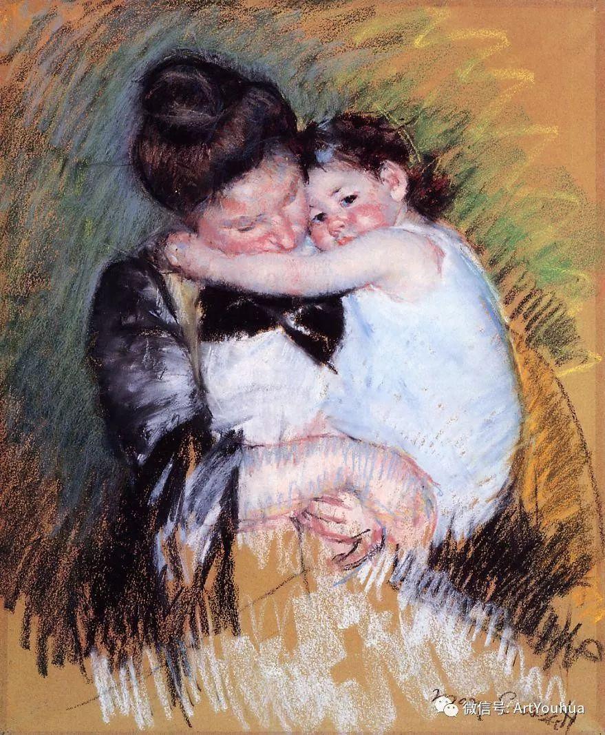 50张人物肖像  美国Mary Stevenson Cassatt油画作品一插图61